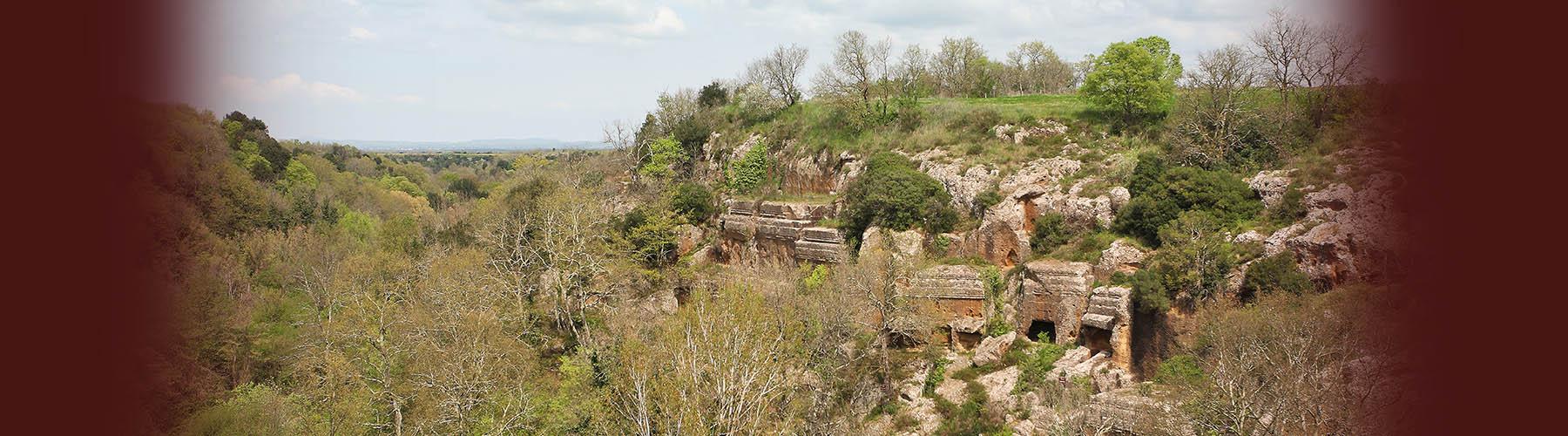 Norchia – l'avventura e la storia