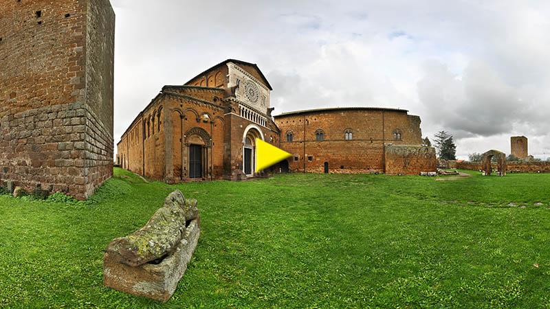 Fotografie della Tuscia, paesaggi ed architettura della Tuscia Viterbese, architetttura rupestre e reperti etruschi.