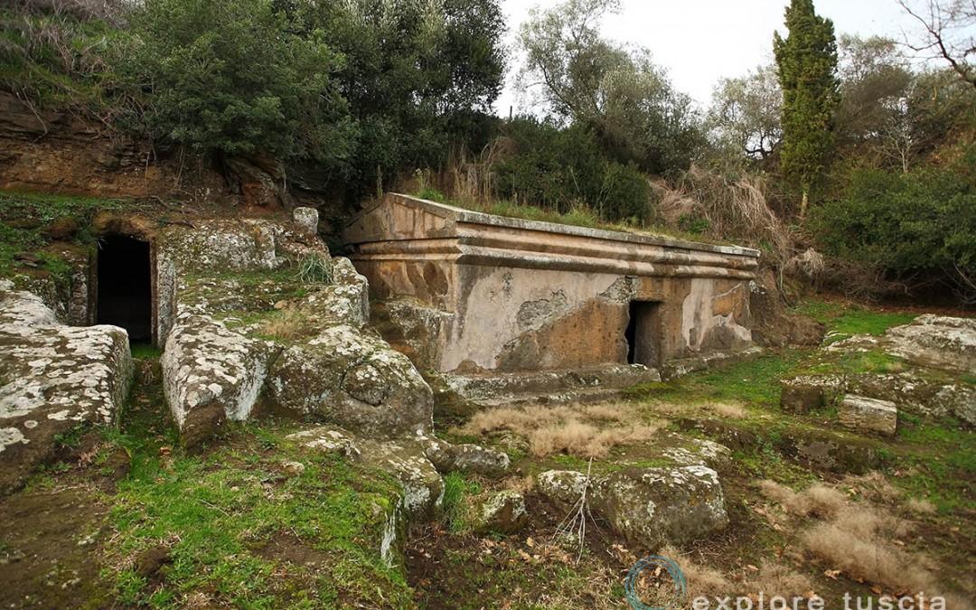 Tuscania – Tomba del Dado