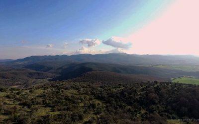 I Monti della Tolfa circondati dal Mignone