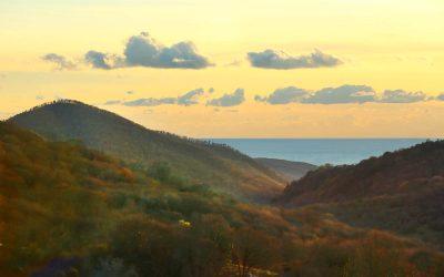 Monti della Tolfa – paesaggio sul mare