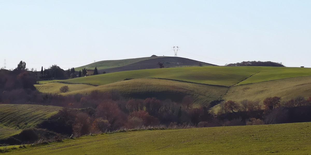Formicone Tuscania verso Poggio Martino