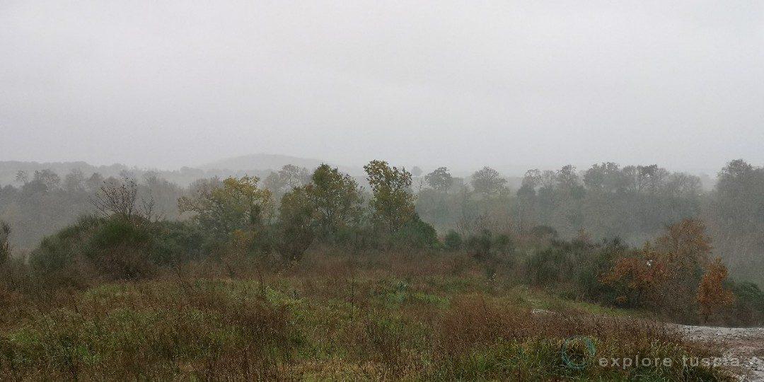 Pioggia in terra Etrusca
