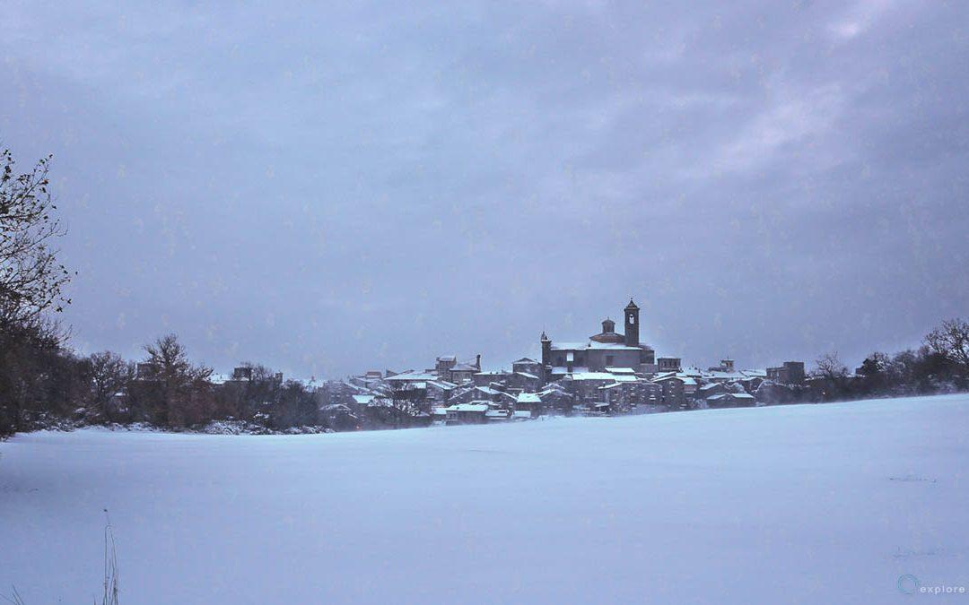 Vetralla – paesaggio invernale